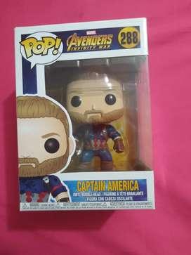 Funko Pop Capitán América 288 Avengers