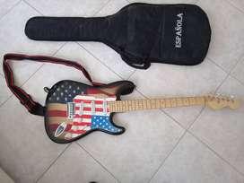 Vendo guitarra electrica como nueva