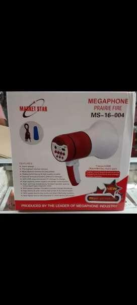 Megafono nuevo