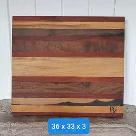 Tabla madera para cocina- sin uso