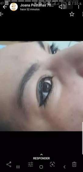 Maquillaje permanente delineado de ojos