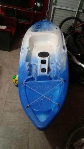 Kayak Plástico Refosado Paseo O Pesca