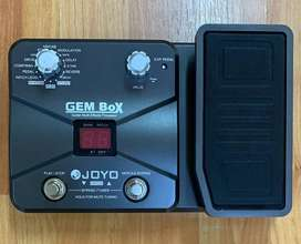 PEDALERA GUITARRA ELÉCTRICA JOYO GEM BOX (PD-GE-122)
