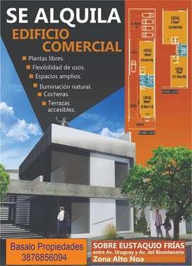 Basalo Propiedades >ALQUILA< Edificio para oficinas de categoria.Zona Alto Noa.
