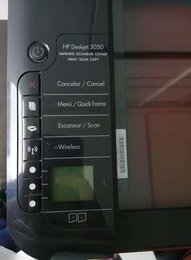 Vendo impresora hp negra