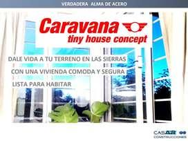 Casas de campo - CARAVANA tiny house concept