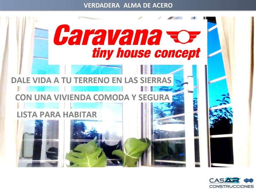 Casas de campo - CARAVANA tiny house concept 0