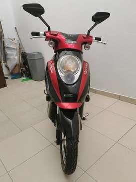 Moto electrica buen estado