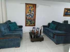 Vendo Sala 2 sofás 1 mesa 1 cuadro