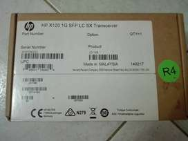 Transceiver Hp Original Jd118b Hp X120 1g Sfp Lc Sx