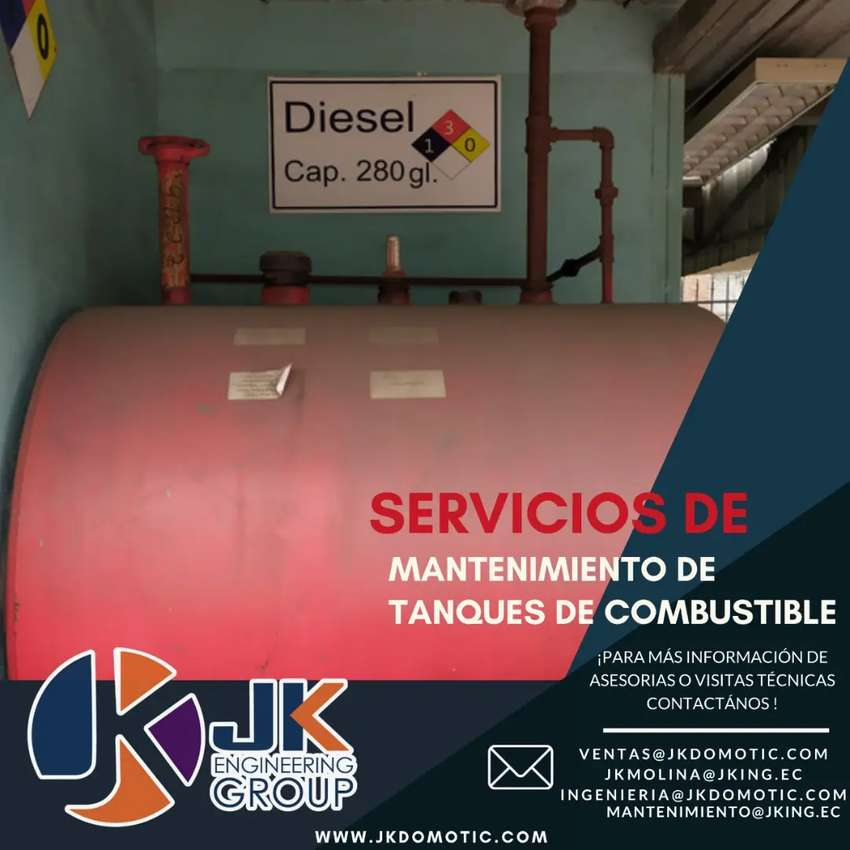 Mantenimiento de Tanques de Diesel 0
