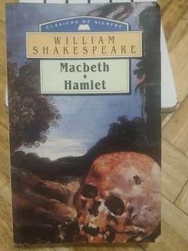 Libro Macbeth Hamlet super Impecable y barato