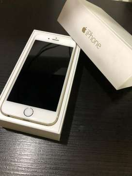 Vendo Iphone 6 dorado de 16 GB