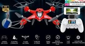 Drone Inteligente X 300-2 Cazador camara HD