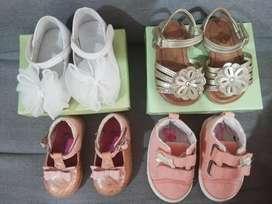 Hermosos Zapatos para Bebé Talla 2