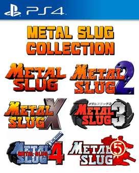 Metal slug para Ps4 no fisico