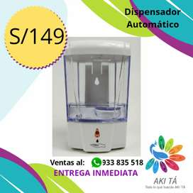 Dispensador Automático de Alcohol o Jabón en Gel