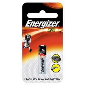 Pila Energizer A27 12 Volts Control Remoto Llave Auto Alarma