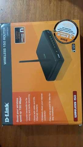 Router y Amplificador de wifi (precio negociable)