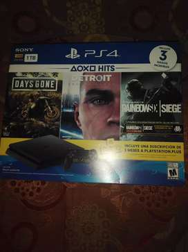 Playstation 4 totalmente NEW
