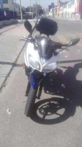Ganga hermosa moto