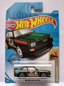 Hot Wheels Audi 84 Sport Quattro