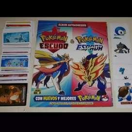 Album pokemon escudo y espada newgeeks
