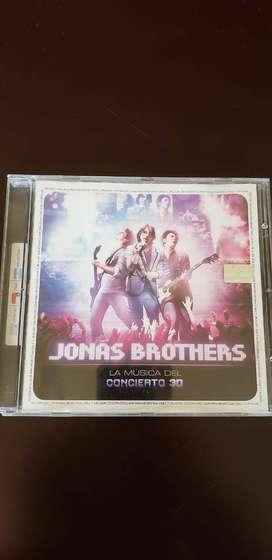 Jonas Brothers: la música del concierto 3D