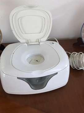 Dispensador electrico toallitas humedas