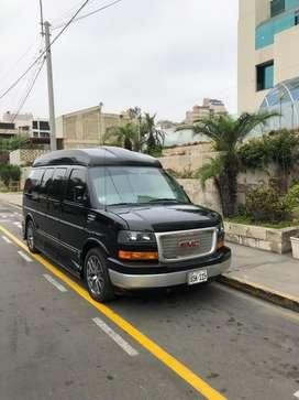 Se vende camioneta GMC MODELO SAVANA motor de 8 cilindros modelo exclusivo