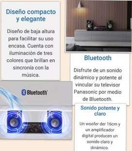 Equipo mini Panasonic con Bluetooth