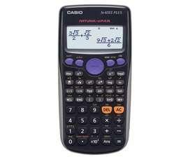 Calculadora científica Casio fx82es plus 252 funciones NUEVA CON GARANTIA