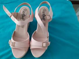 Sandalias palo de rosa