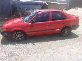 Toyota Tercel Rojo