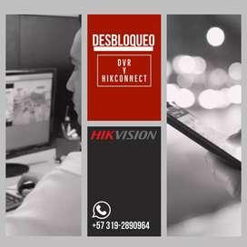 Desbloqueo DVR Hikvision.