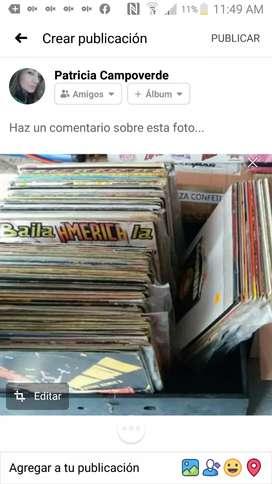Vendo o cambio Colección de discos de acetato
