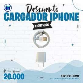 Cargador iPhone lightning