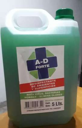 Desinfectante liquido