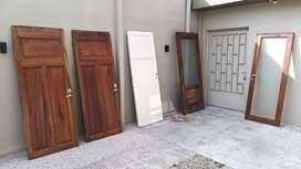 Puertas placa Cedro ver fotos
