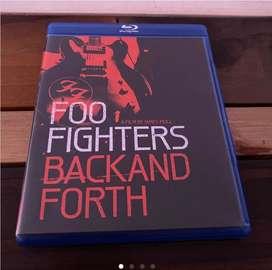 Foo Fighters DVD y Blu Ray.