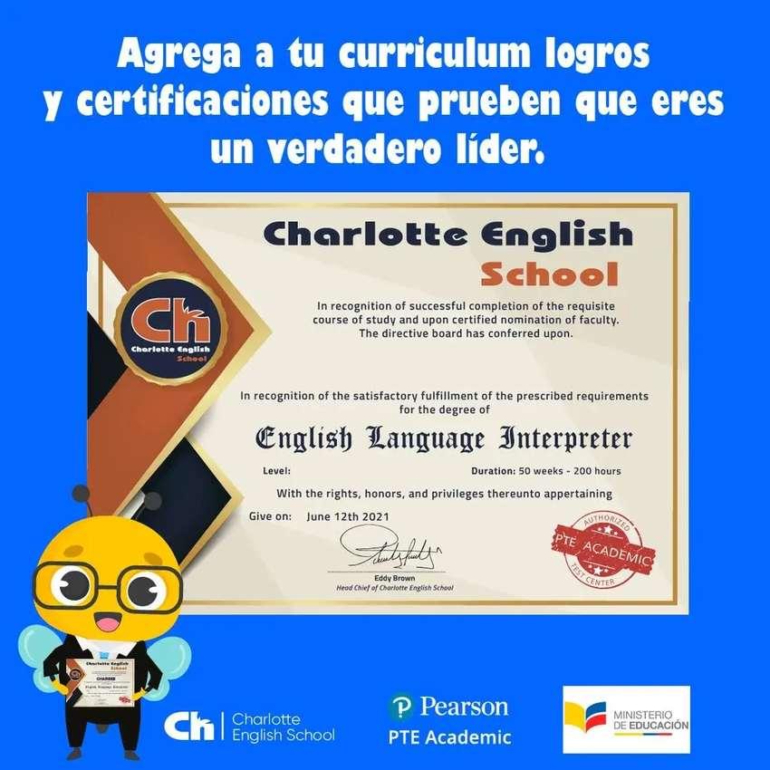 ¿Necesitas ayuda en inglés? Obtén una Certificación Internacional avalada por Charlotte English School