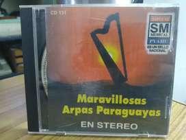 CD Maravillosas arpas paraguayas