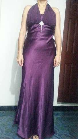 Venta de Vestido de Gala Purpura Americano Talla S