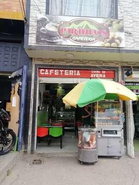 Cafetería en venta buen sector