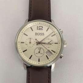 Reloj Hugo Boss Original pulso Cuero