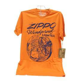 Camiseta En Algodón Original, Zippo. Por Banimported