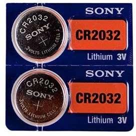 Pila de litio CR2032 3v Sony para mainboards y chips de sistema de tinta continua Epson
