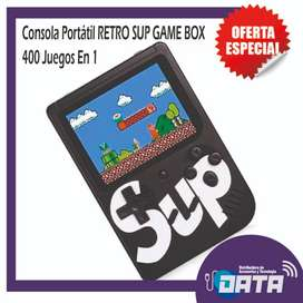 Consola Portátil RETRO SUP GAME BOX 400 Juegos En 1