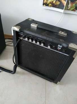 Ampli Ranger Rg20, precio negociable/permuta algo de música