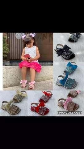 Sandalias de niñas entrega inmediata